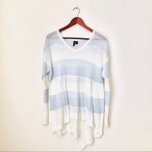 Left of Center•Striped Thin Long Sleeve Top